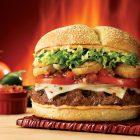 Red Robin's Burnin' Love Gourmet Burger