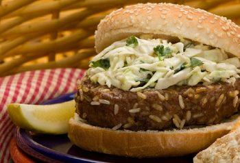 16tn Zesty Southwest Burgers with Cilantro Slaw 350x238   Family Meals Under $10   RecipesNow.com
