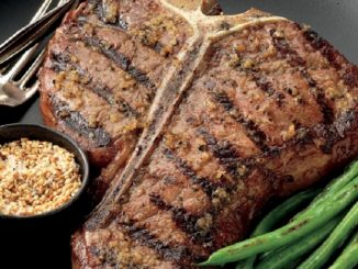 Ginger Porterhouse Steaks