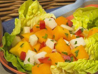 Fiesta Fresh Mango Salad