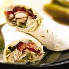 Mediterranean Grilled Chicken Wrap