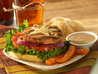 Chipotle Ranch Salmon Burgers