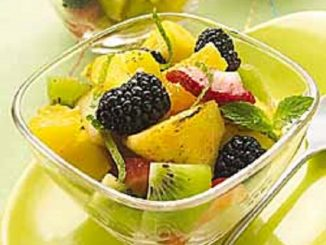 Lime-Ginger Grilled Fruit