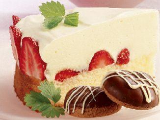 White Chocolate Carousel Cake