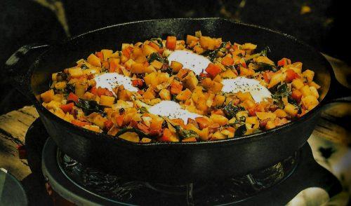 PancettaHash 500x294   The New Camp Cookbook   Review   RecipesNow.com
