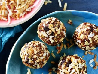 Toasted Coconut Trail Mix Bites