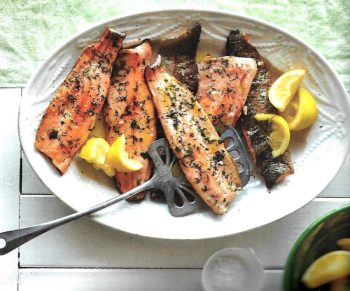 Low Cholesterol Cookbook - Trout With Herbs And Lemon - Review