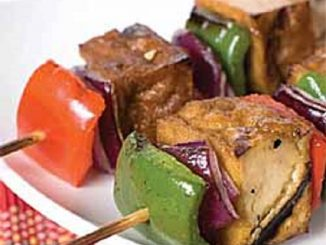 Tofu n'Sauce Kebabs