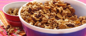 Whole Grain Holiday Party Snack Mix