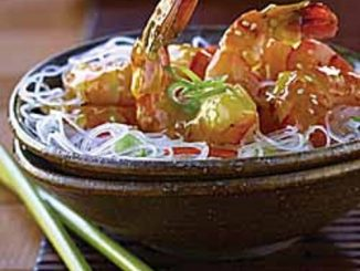 Citrus Sesame Shrimp