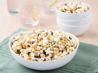 Japanese-style Peanut Popcorn