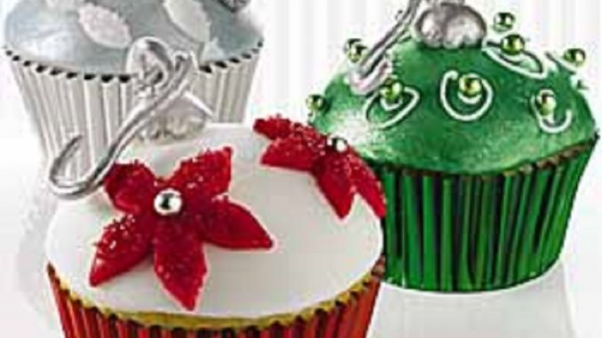 Ornament Cupcakes | RecipesNow!