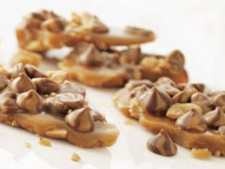 Swirlicious Chocolate-Peanut Toffee