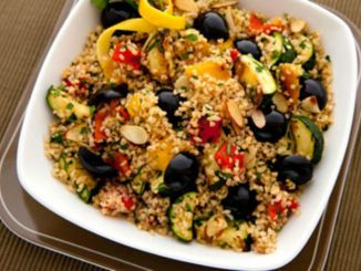 Fire Roasted Taboulli with Olives