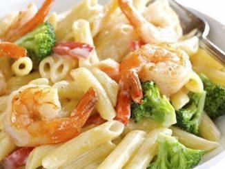 Penne Shrimp and Broccoli