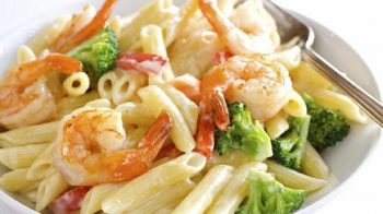 frozen24C 350x196   Penne Shrimp and Broccoli   RecipesNow.com