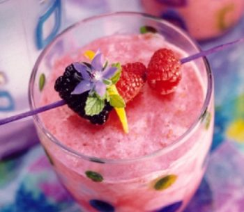 Blackberry - Honeydew Smoothie