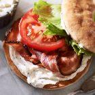 pc thinbagelBLTwitheverythinggreekyogurtcreamcheese 500x500 r 140x140   Caramel Greek Yogurt Cheesecake Bites   RecipesNow.com