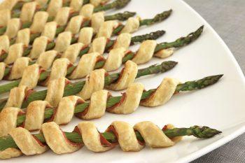 Prosciutto Asparagus Spirals