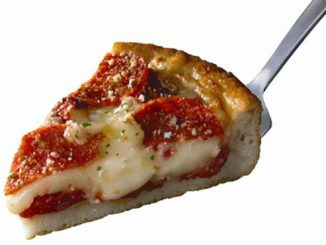 Pepperoni Deep-Dish Pizza