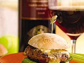 Wild Mushroom and Sirloin Burgers