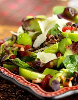 wildRiceApplesCran 271x350   Wild Rice & Apple Salad   RecipesNow.com