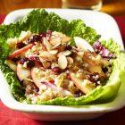 Apple Bulgur Salad