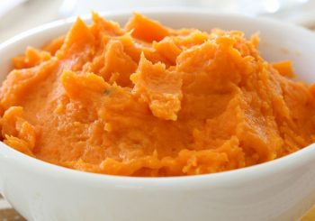 Mashed Butternut Squash with Brown Sugar
