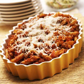 Easy Pumpkin-Pasta Bake
