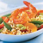 Easy Orange Shrimp Fried Rice