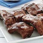 Barbecued Ribs with 3 Heinz Sauces