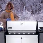 Don't Let Winter Stop You From Grilling Outdoors