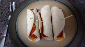 Beef and Pepperoni Roll-Ups