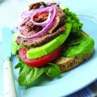 Steak Sandwiches with Tomato-Avocado Salsa
