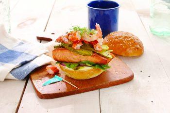 Seafood Treasure: Lost at Sea Burger