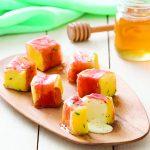 Mango, Mozzarella and Serrano Ham Bites