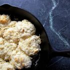 Art Smith's Goat Cheese Drop Biscuits