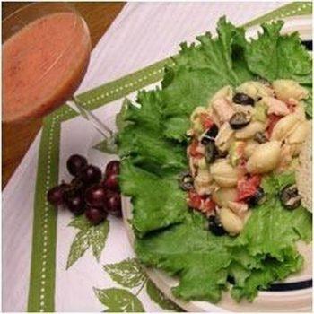 Tuna Pasta Salad With Avocado