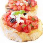 Sundried Tomato Bruschetta