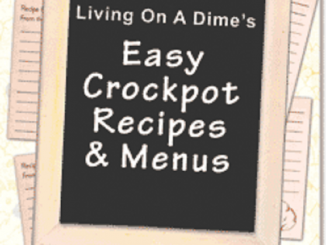 Easy Crockpot Recipes and Menus e-Book 2