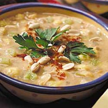 Posole-Green Chili Peanut Stew