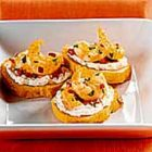 Garlic Shrimp Crostini