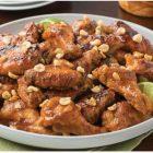 Spicy Peanut Chicken Wings